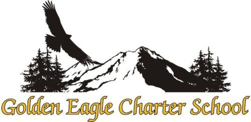 golden eagle charter school logo