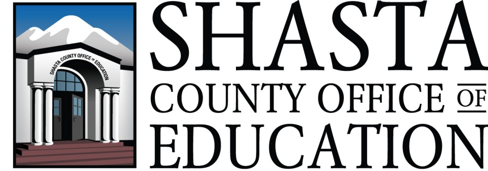 shasta county office of education logo