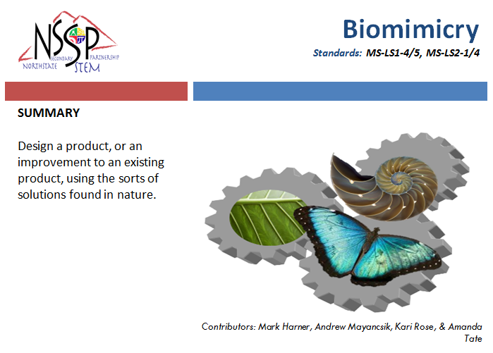 Biomimicry link
