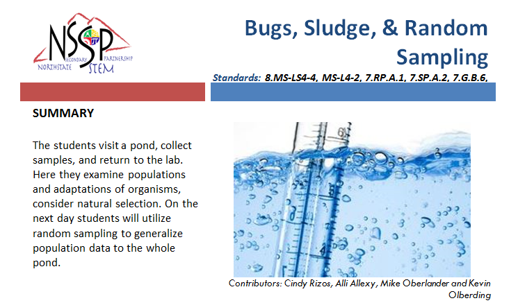 Bugs, Sludge, & Random Sampling link