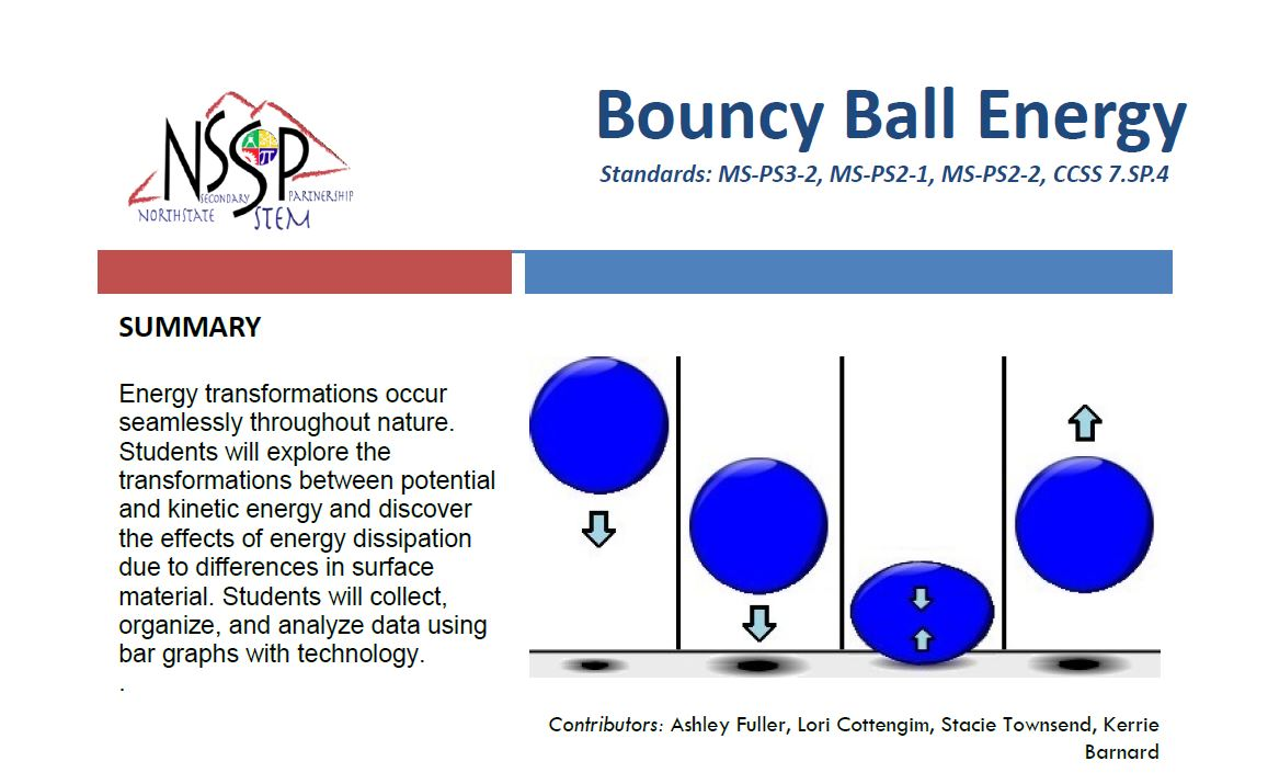 link to bouncy ball unit