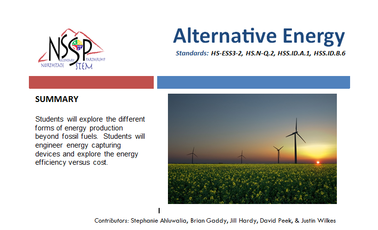 Alternative Energy link